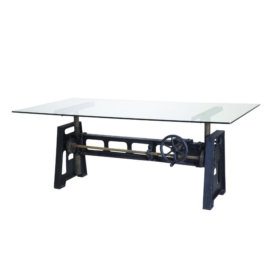 tavolo ferro vetro