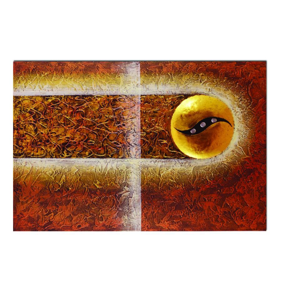 quadro pannello astratto occhio di horus