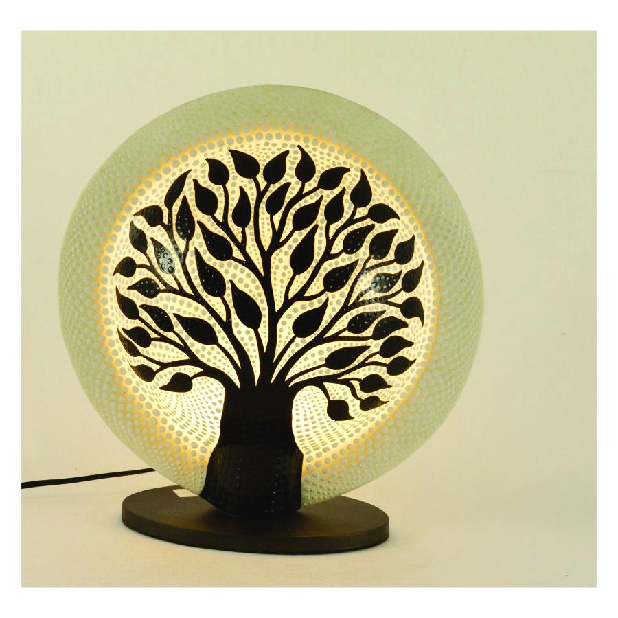 lampada da tavolo albero