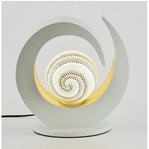lampada chicciola bianca aborigena