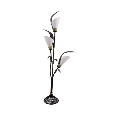 piantana 3 foglie cocco bianca