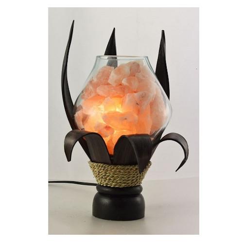 lampada di sale unica cocco