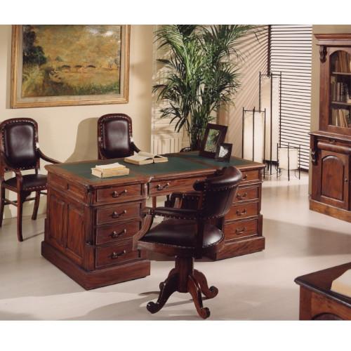 scrivania pelle 2