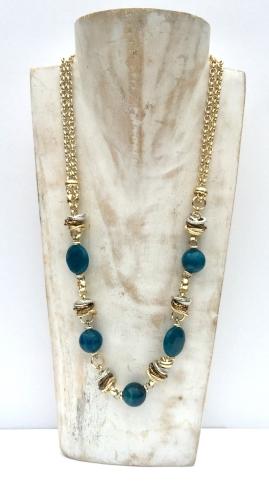 nuova madame collana blu